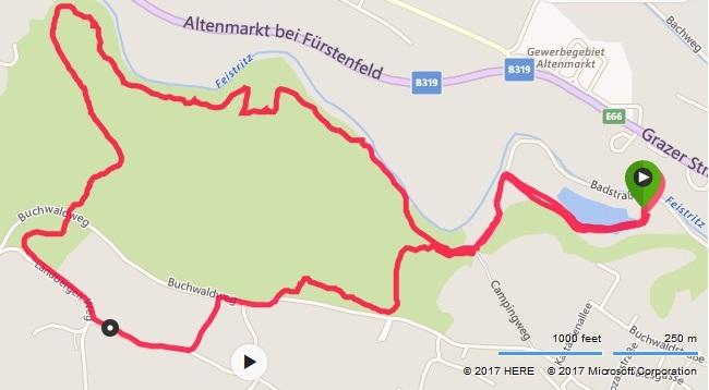 MANA SPEED TRAIL Strecke 2017